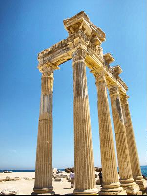 Сиде  римские развалины