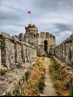 Турция крепость Анамур