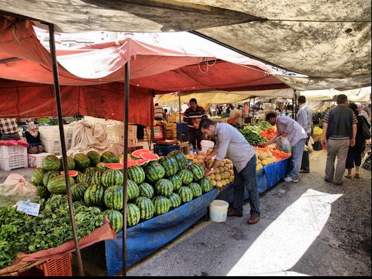 Овощной рынок в Турции