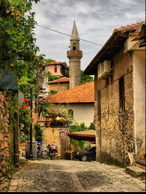 Алания -улочки старого города
